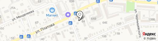 Altstadt на карте Аксая