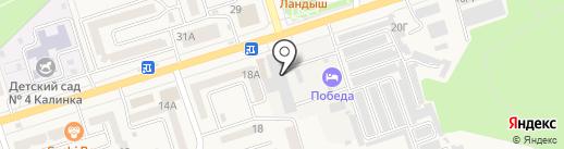 АСП на карте Аксая