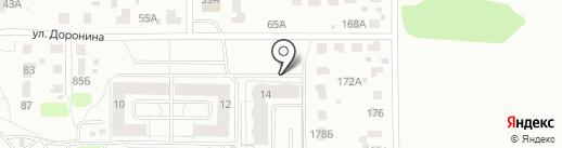 Ярпетротрейд на карте Ярославля