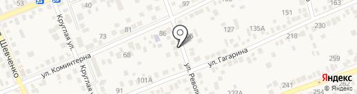 Раколовка на карте Аксая