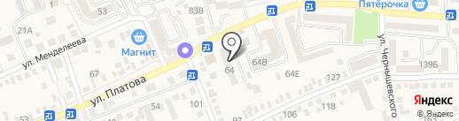 Домовенок на карте Аксая