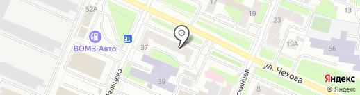 Лоскутная лавка на карте Вологды