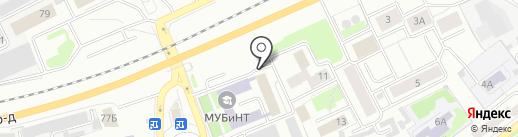 Международная Академия Бизнеса и Новых Технологий на карте Ярославля