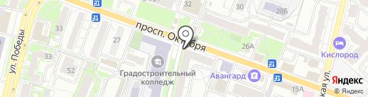 МЕДИНВЕСТ на карте Ярославля