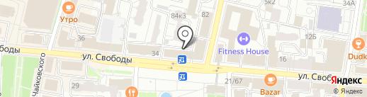 Мастерская Счастья на карте Ярославля