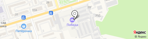 Дилижанс на карте Аксая