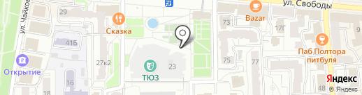 Ярославский государственный театр кукол на карте Ярославля