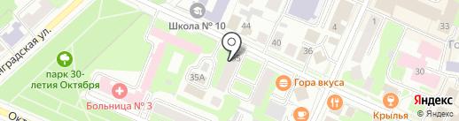 Масловологда на карте Вологды