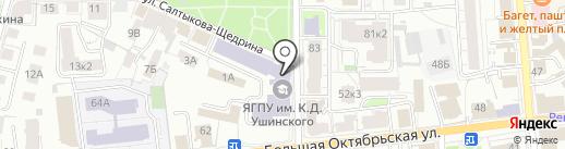 АНТ на карте Ярославля
