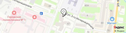 Мависмарт на карте Вологды