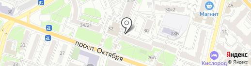 Ярославский альянс на карте Ярославля