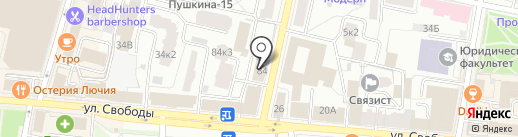 Printex на карте Ярославля