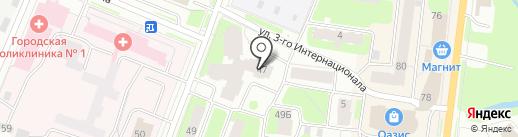 Экспресс на карте Вологды