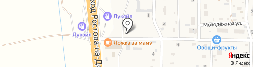 Магазин автозапчастей и сельхоззапчастей на карте Дорожного