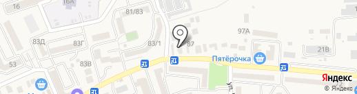 Магазин разливного пива на карте Аксая