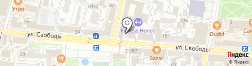 Строительные системы на карте Ярославля