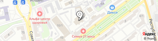 Crystal club на карте Ярославля