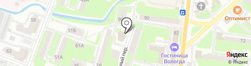 ЗдравОст на карте Вологды