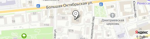 БУМЕР76 на карте Ярославля