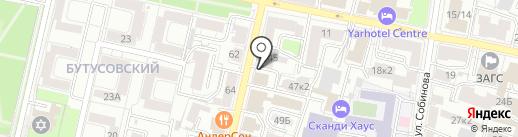 Candlemint на карте Ярославля