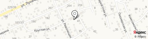 Детский сад №5, Журавлик на карте Аксая