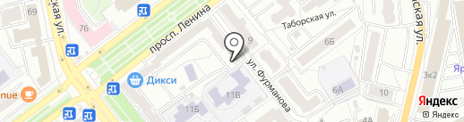 Банкомат, Совкомбанк, ПАО на карте Ярославля
