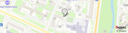 MaxiTrevel на карте Вологды