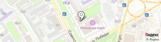 Эллита на карте Ярославля