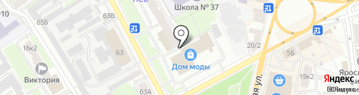 Народный Крафт на карте Ярославля