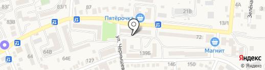 Магазин игрушек на карте Аксая