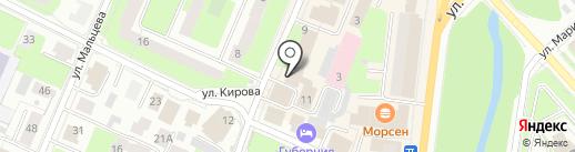 Бюро судебной экспертизы и независимой оценки на карте Вологды