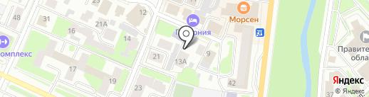Добровольное Объединение Строителей на карте Вологды