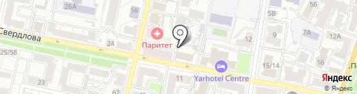 Дом18 на карте Ярославля