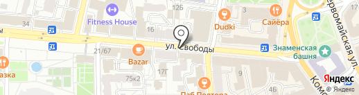 Let Me Dance на карте Ярославля