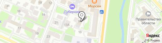 МАКС, ЗАО на карте Вологды