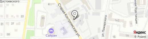 Прагма на карте Ярославля