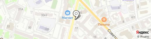Apple & Eve на карте Ярославля