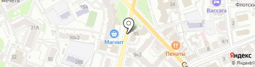 Стрекоза на карте Ярославля