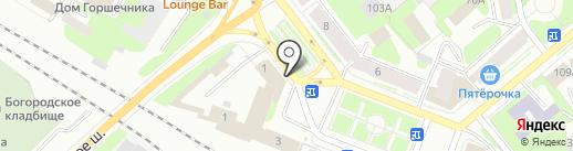 Отдел государственной фельдъегерской службы РФ в г. Вологде на карте Вологды