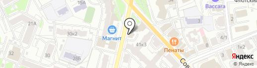 ПримЭнерго на карте Ярославля
