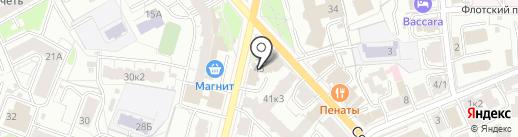 Ревитал на карте Ярославля