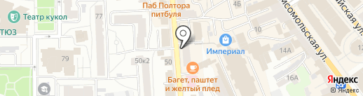 Формед-Ярославль на карте Ярославля
