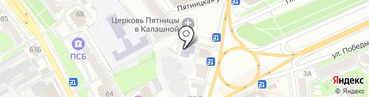 Академия успешных мастеров Яны Лузан на карте Ярославля