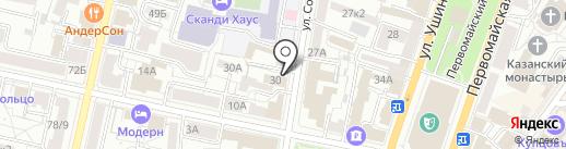 ИКБР Яринтербанк на карте Ярославля