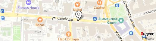 Double YOU на карте Ярославля