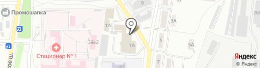 Салон цветов на карте Ярославля