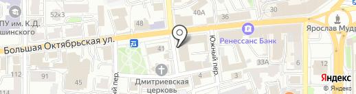 Техноклимат на карте Ярославля