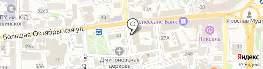 POWER BANK на карте Ярославля