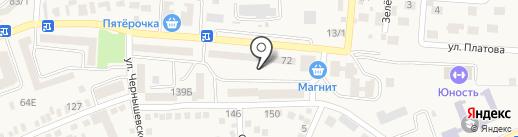 Юго-Западный банк Сбербанка России на карте Аксая