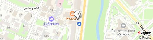 Книксен 35 на карте Вологды
